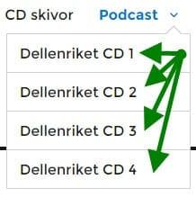 Hur du väljer en CD - dvs Resväg